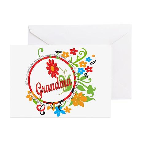 Wonderful Grandma Greeting Cards (Pk of 10)