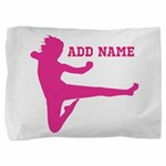 Personalized Karate Girl Pillow Sham