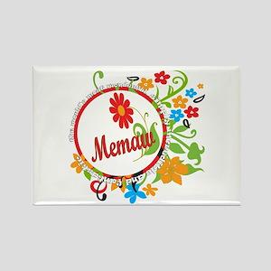 Wonderful Memaw Rectangle Magnet