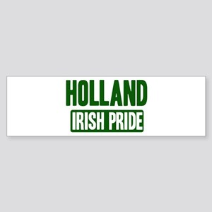 Holland irish pride Bumper Sticker