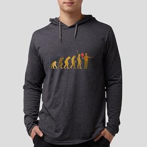 Crossing Guard Mens Hooded Shirt