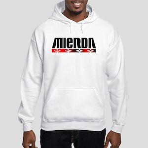 Spanish swear word shit Hooded Sweatshirt