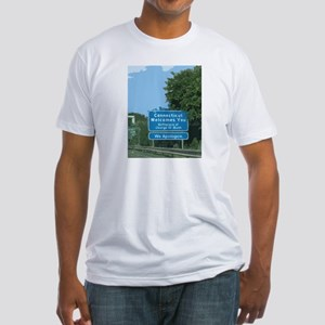Connecticut Apology Fitted T-Shirt