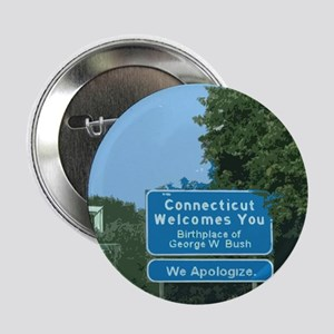Connecticut Apology Button