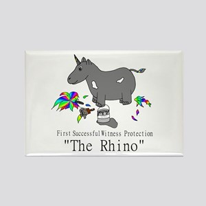 Witness Protection Unicorn/Rhino Magnets