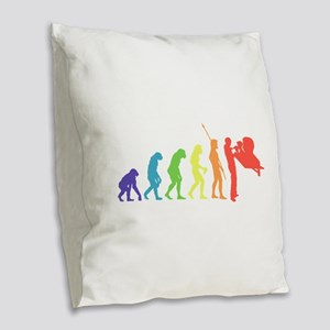 Curator Burlap Throw Pillow