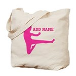 Personalized Karate Girl Tote Bag
