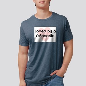 Loved by a Schnoodle Ash Grey T-Shirt