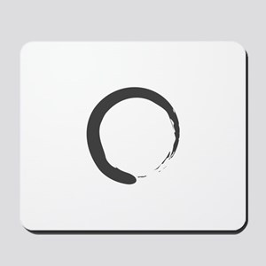Enso - Zen Circle Mousepad