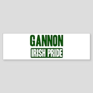 Gannon irish pride Bumper Sticker