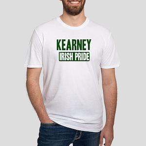 Kearney irish pride Fitted T-Shirt
