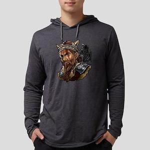 Viking | Warrior Raven Odin Wa Long Sleeve T-Shirt