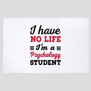 Psychology Student 4' x 6' Rug