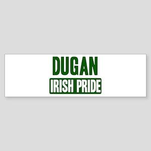 Dugan irish pride Bumper Sticker