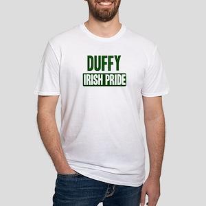 Duffy irish pride Fitted T-Shirt