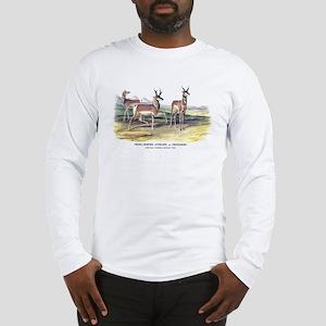 Audubon Pronghorn Antelope Long Sleeve T-Shirt