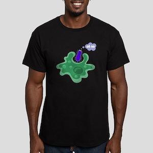 Phagocytosis Men's Fitted T-Shirt (dark)