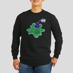 Phagocytosis Long Sleeve Dark T-Shirt