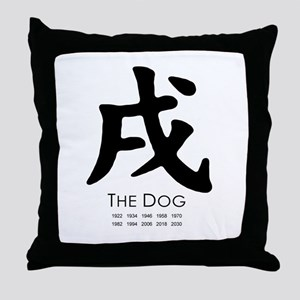 Year of the Dog ~  Throw Pillow