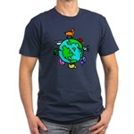 Animal Planet Rescue Men's Fitted T-Shirt (dark)
