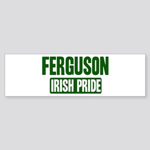 Ferguson irish pride Bumper Sticker