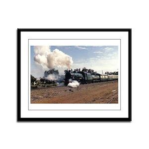 Train Framed Panel Print