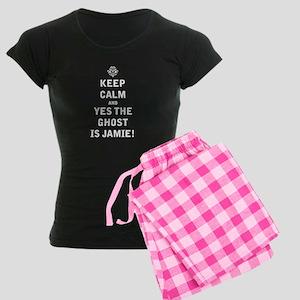 Jamie Ghost Women's Dark Pajamas