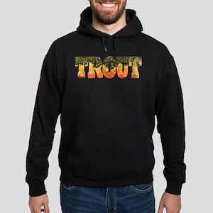 Brook TROUT Hoodie (dark)