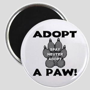 Adopt A Paw: Spay! Neuter! Ad Magnet