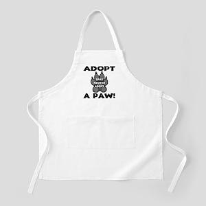 Adopt A Paw: Spay! Neuter! Ad BBQ Apron