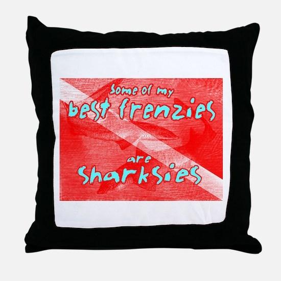Best Frenzies - Throw Pillow