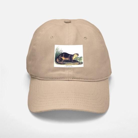 Audubon River Otter Animal Baseball Baseball Cap