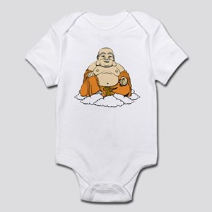 'Laughing Buddha' Baby Bodysuit