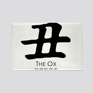 Year of the Ox ~ Rectangle Magnet