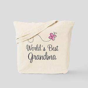 World's Best Grandma Tote Bag