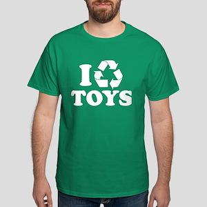 I Recycle Toys Dark T-Shirt