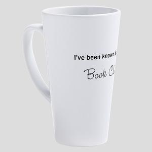 Book Clubbing 17 oz Latte Mug