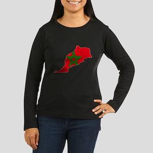 Vintage Maroc Women's Long Sleeve Dark T-Shirt