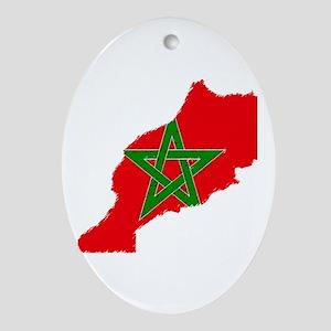 Vintage Maroc Oval Ornament