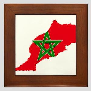 Vintage Maroc Framed Tile
