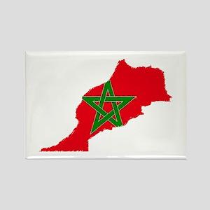 Vintage Maroc Rectangle Magnet