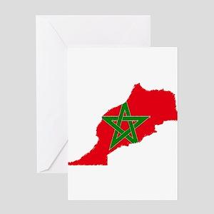 Vintage Maroc Greeting Card