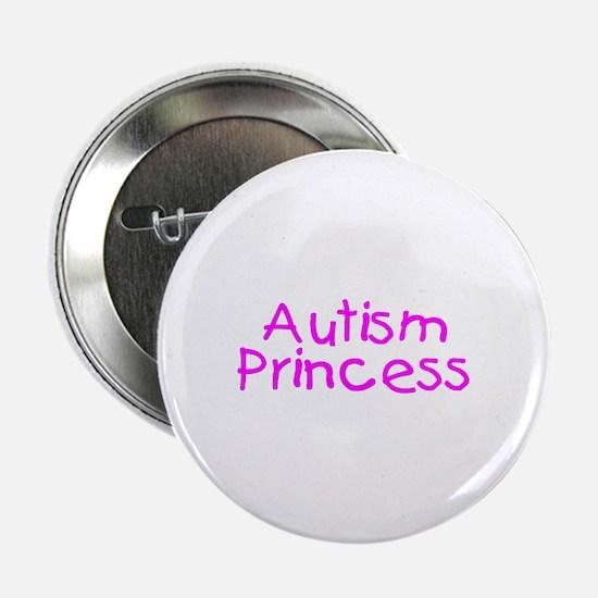 """Autism Princess 2.25"""" Button"""