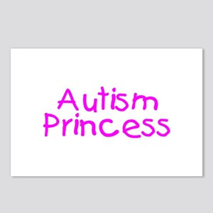 Autism Princess Postcards (Package of 8)