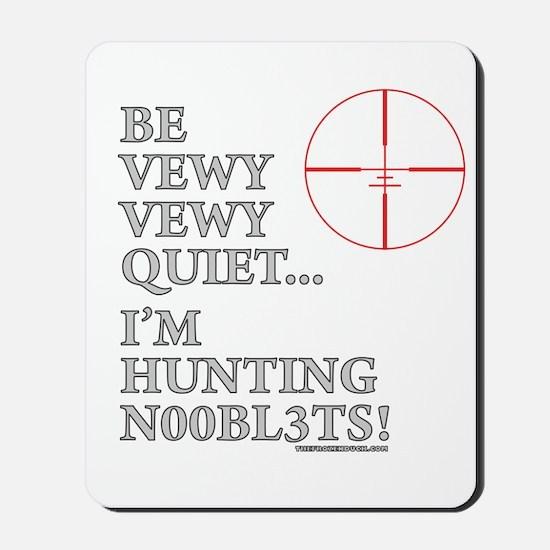 Hunting N00bl3ts Mousepad