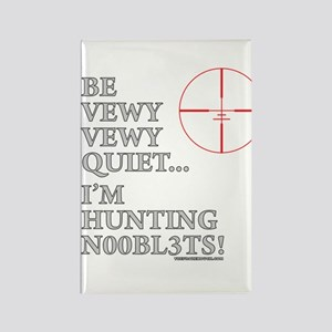 Hunting N00bl3ts Rectangle Magnet