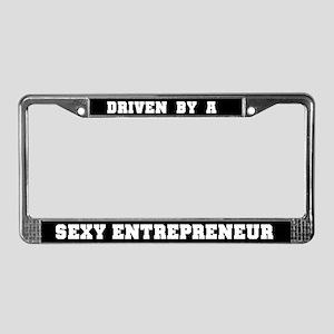 Sexy Entrepreneur License Plate Frame