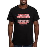 I am NOT a terrorist! Men's Fitted T-Shirt (dark)