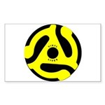 Vinyl Lives Rectangle Sticker 50 pk)