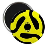 "Vinyl Lives 2.25"" Magnet (100 pack)"